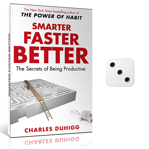 smarter faster better book cover with dice review